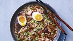 The key to the success of this traditional ramen is the slow-cooked, intensely savory Japanese-style broth. Paired with the full-flavored braised pork belly, marinated eggs, and noodles, it makes a […] #japaneseRecipe