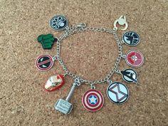 Avengers inspired bracelet.
