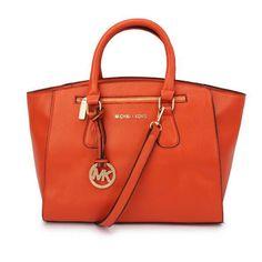 #MK #Trends Michael Kors Sophie Large Orange Satchels