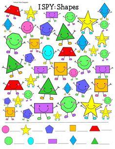 This pin was discovered by ricky vermaas. Preschool Worksheets, Preschool Learning, Teaching, Geometry Activities, Preschool Activities, Graphic Organizers, Art For Kids, Kindergarten, Shapes