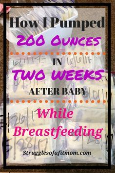 My favorite tips and techniques for how to quickly boost milk supply that got me 200 ounces of pumped breastmilk in two weeks while breastfeeding my newborn