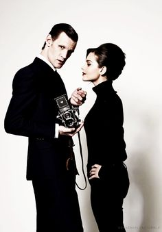 Love this picture - Matt & Jenna. (Doctor Who)
