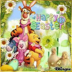 Pooh And The Gang Happy Easter Picture Quote easter winnie the pooh easter quotes happy easter happy easter. easter pictures easter gifs easter image quotes easter greetings easter wishes happy easter picture winnie the pooh easter Happy Easter Gif, Gif Greetings, Easter Quotes, Easter Wishes, Holiday Wallpaper, Easter Pictures, Pooh Bear, Disney Art, Art Tutorials