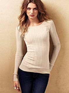 cotton thermal sweater
