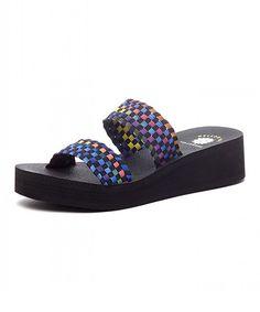 a919f7df184387 Yellow Box Shoes Black Adalet Platform Sandal