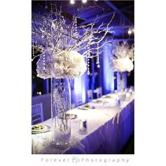 For Women / Winter wedding centerpieces found on Polyvore
