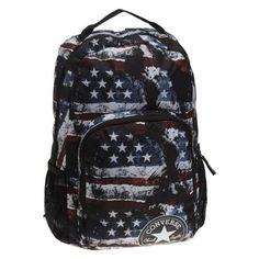 e0972f92bf8007 Converse-All In Backpack Stars n Stripes Noir (410458) Streetwear