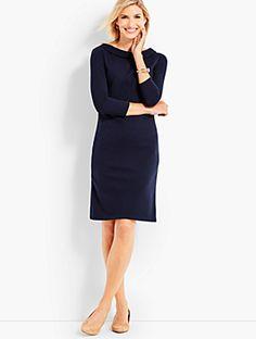 Audrey Bold Ottoman Shift Dress