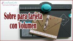 Sobre para Tarjeta con Volumen o 3D   Envelope Punch Board   Tutorial DI...
