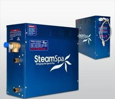 Free Shipping - SteamSpa QuickStart 6 KW Acu-Steam Bath Generator D-600 – BathCollective.com Steam Shower Kit, Shower Kits, Bath Or Shower, Steam Showers, Steam Sauna, Steam Bath, Steam Generator, Relief Valve, Thing 1