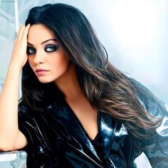 Mila Kunis <3  #makeup