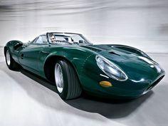 """1966 Jaguar XJ13 V12 Prototype Sports Racer"""