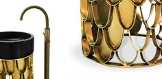 furnitures This brass freestanding washbasin is inspired in the KOI Carp, a recurring symbol of Japanese culture highly appreciated by its decorative purposes. Its natural color mutations reveal their capacity to adapt just like the KOI freestanding washbasin fits in any luxury bathroom.