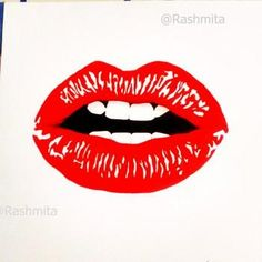 """""""Read My Lips"""" #Creative #Art in #sketching @Touchtalent"""