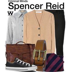 Inspired by Matthew Gray Gubler as Spencer Reid on Criminal Minds. Fandom Fashion, Fashion Tv, School Fashion, Winter Fashion, Mens Fashion, Tv Show Outfits, Fandom Outfits, Cool Outfits, Amazing Outfits
