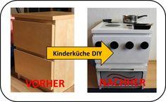 Kinderküche DIY Malm Ikea