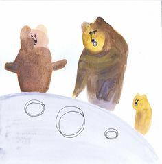 Złotowłosa i trzy niedźwiadki/ Goldilocks... on Behance