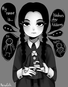 Wednesday The later years The Addams Family Poszter t Art Manga, Anime Art, Graphite Drawings, Art Drawings, Character Art, Character Design, Wednesday Addams, Fanart, Goth Art
