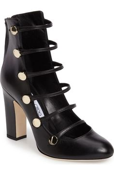 Jimmy Choo Venice Button Pump (Women) available at #Nordstrom