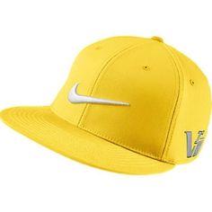 NIKE 2013 FLAT BRIM   BILL TOUR GOLF HAT DANDELION YELLOW 20XI VRS CAP f6921d4a257