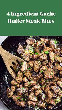 Healthy Steak Recipes, Steak Dinner Recipes, Quick Dinner Recipes, Cooking Recipes, Recipes With Steak, Steak Dinners, Sirloin Steak Recipes, Skirt Steak Recipes, Steak Bites