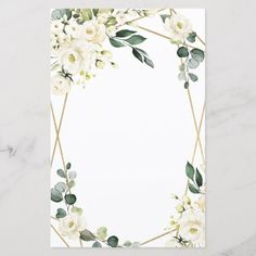 Shop Elegant Gold Geometric Floral Wedding Menu Cards created by RusticWeddings. Personalize it with photos & text or purchase as is! Wedding Menu Cards, Wedding Card Design, Wedding Invitation Cards, Wedding Themes, Floral Invitation, Floral Wedding, Rustic Wedding, Wedding Flowers, Geometric Wedding