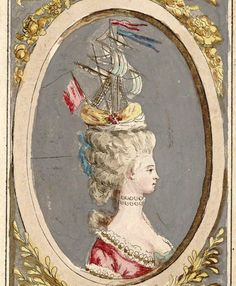 rococo headwear rococo sailboat on head marie antoinette wig and hat crazy boat hair. Black Bedroom Furniture Sets. Home Design Ideas