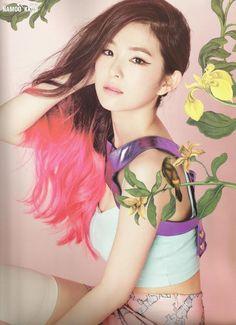 [SCAN] 레드벨벳 Red Velvet SMTOWN Seoul Brochure - 아이린 IRENE   cr. NAMOO_KKUN