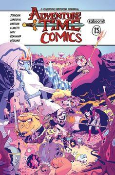 Adventure Time Comics 13 - Jorge Monlongo (kaboom! / Boom)