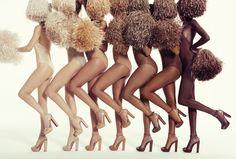 Christian Louboutin OFF! Christian Louboutin Debuts High Heel Sandals for a Range of Skin Tones Diana Vreeland, Brian Atwood, Sarah Jessica Parker, Sophia Loren, Salvatore Ferragamo, Jimmy Choo, Divas, 5 Inch And Up, Vintage Black Glamour