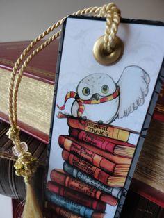 Hedwig bookmark Bookmarks - Marcapáginas - Puntos de libro