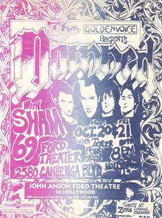 One of my very fave bands...check these out if you love good music    29 Amazing Punk Flyers From The 80s