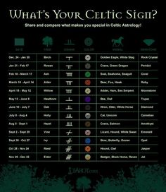 Celtic signs my animal is cat and UNICORN hahahahahahaha