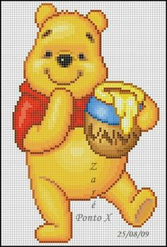 Terrific Absolutely Free Crocheting Stitches disney Tips This introduction with. - Terrific Absolutely Free Crocheting Stitches disney Tips This introduction with the Basic Miffy Am - Cross Stitch Fairy, Cross Stitch Bookmarks, Cross Stitch Charts, Disney Cross Stitch Patterns, Cross Stitch Designs, Cross Stitching, Cross Stitch Embroidery, Graph Crochet, Crochet Disney