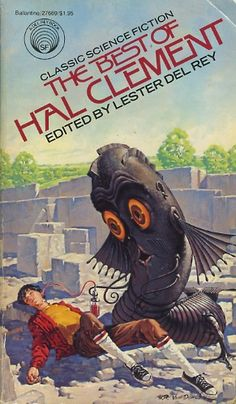 H.R.VAN DOOGEN - cover art for The Best of Hal Clement - Edited by Lester Del Rey - 1979 Ballantine Books paperback