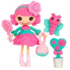 Mini Lalaloopsy Rosebud Long Stem Doll