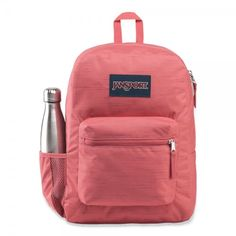 Cross Town Remix is a perfect bag for primary school, but it is also used by many secondary and 3rd level students. It is also used as a day pack and for travelling. The side bottle holder will make all the difference. Mochila Jansport, Jansport Backpack, Kids Backpacks, School Backpacks, Handbags For School, Back To School Shopping, Custom Business Cards, Primary School, Laptop Sleeves