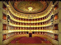 Teatro Rossini. Pesaro. Italy
