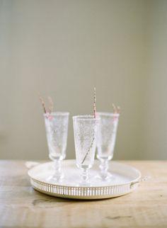 lavender drink stirs / fairy tale wedding ideas