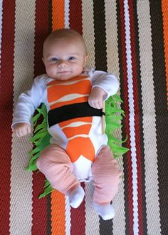 sushi baby kostüm selber machen idee lustig fasching halloween