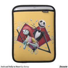 Jack Skellington y Sally en corazón Manga De iPad
