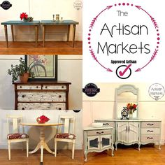 Looking for furniture redesign Artisans! Join The Artisan Markets! Where Buyers & Sellers meet.  #furniture #interiordesign #home #decor #worldwide #california #ohio #newyork #florida #michigan #furniture #amazing #vintage #antique #texas #pennsylvania #eastcoast #westcoast #specialty #shabbychic  #handpainted #chalkpaint #anniesloan #facebook #instagram #twitter