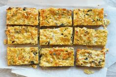 This zucchini slice is our late nan's recipe. It is something that we make on a regular basis, mainly because everyone eats it, but also because it is great for lunches, it makes a lot … Nan Recipe, Recipe Tin, Snack Recipes, Dinner Recipes, Snacks, Free Recipes, Thermal Cooking, Zucchini Slice, Free Meal Plans