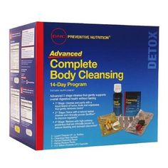 GNC Preventive Nutrition Advanced Complete Body Cleansing 14 Day Program