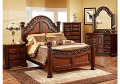 Shop for a Beckford  9 Pc King Bedroom at Rooms To Go. Find Bedroom Sets that will look great in your home and complement the rest of your furniture.