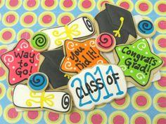 Graduation Cookies from cheriscookies.com