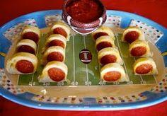 """Touchdown"" Pepperoni Bites"