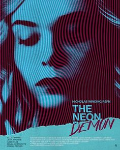 Heres my #neondemon poster design. Didnt have time to mane the @posterspy comp unfortunatley.