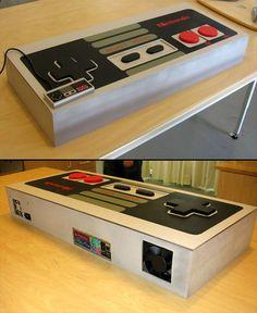 NES Controller PC Case Mod