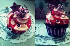 cupcake necklace 2. by ~cutexhell on deviantART